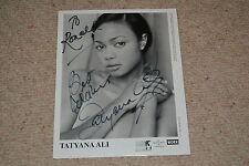 TATYANA ALI  signed Autogramm In Person DER PRINZ VON BEL AIR Will Smith 20x25