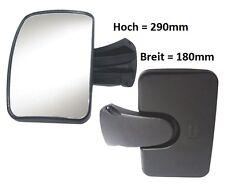 Bordsteinspiegel Zusatzspiegel Rampenspiegel MAN Mercedes DAF Iveco 290x180 R300