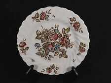 JOHNSON BROS DEVON SPRAYS BREAD & BUTTER PLATE-FLORAL BROWN ROSES-7 AVAILABLE