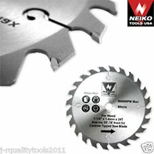 "4-3/8"" CORDLESS CARBIDE CIRCULAR SAW BLADES 30T"