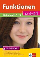 Funktionen im Griff! Mathematik 7. - 10. Klasse (2014, Taschenbuch), ungelesen!