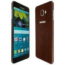 Skinomi Dark Wood Skin+Clear Screen Protector for Samsung Galaxy C7