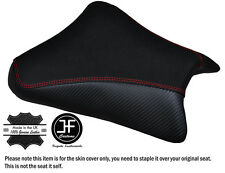 GRIP CARBON VINYL RED ST CUSTOM FITS SUZUKI GSXR 1000 03-04 FRONT SEAT COVER