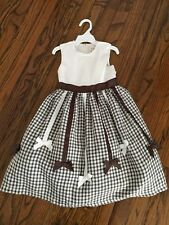 CHILDRENS PLACE ADORABLE GIRLS LINEN DRESS SIZE 4