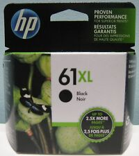 HP 61XL HIGH YIELD GENUINE BLACK INK CARTRIDGE, NIB