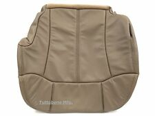 "2000-2002 SILVERADO LEATHER DRIVER SEAT COVER-MEDIUM NEUTRAL""TAN"" CODE #522"