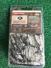 Mossy Oak Neoprene Scope Cover - Large - Break Up MO-SCL-BU