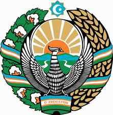 """Voiture autocollant blason """"l' Ouzbékistan"""" Coat of Arms car sticker"""
