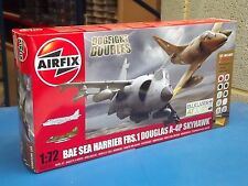 AIRFIX 1/72 50134 A-4 SKYHAWK / SEA HARRIER FRS1 Falkland Dogfight Double REGALO