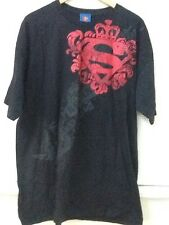 Superman Man Of Steel Black Cygnus T-shirt Size XL Extra Large 100% Cotton