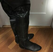 ALDO Shoes Over the Knee Boots Black Sz 8 Size 38