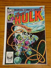 INCREDIBLE HULK #281 VOL1 MARVEL COMICS MARCH 1983