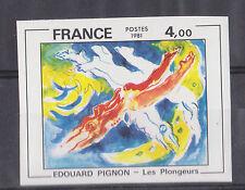 N°2168 EDOUARD PIGNON, cote AM 85 €, Neuf **, non dentelé, année 1981, TTBE