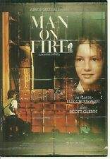 RARE / CARTE POSTALE POSTCARD - MAN ON FIRE avec SCOTT GLENN / ELIE CHOURAQUI