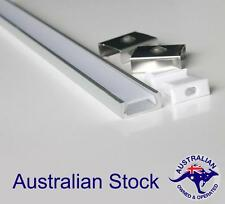 2m Aluminium Profile Channel Heat-sink With Milky Diffuser for LED Strip Light