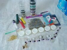 Bead Lot Mixed Sizes Styles Colors Seed Junk Drawer Grab Bag NEW