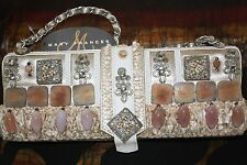 "NWT Mary Frances Beaded Embroidered Bag Purse ""Heaven on Earth"""