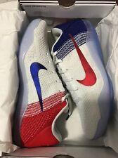 Brand New Nike Kobe XI Elite Low USA Olympic Color 822675-184 Size 12