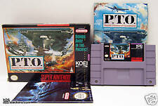 P.T.O.: Pacific Theater of Operations (SNES) COMPLETE!!