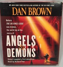Dan Brown's Angels & Demons Audio CD