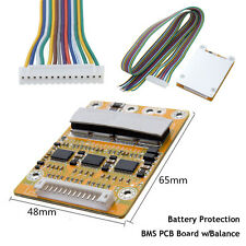 Battery Protection BMS PCB Board w/ Balance for 13 Packs 48V Li-ion Cell Max 25A
