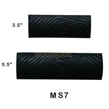2Pcs Black S-shape Big Tooth Rubber Wood Graining Wall Painting Tool Decor