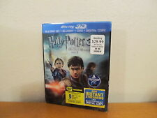 Harry Potter and the Deathly Hallows: Part II 3D Blu-ray/DVD 4 Disc + UV slipcov