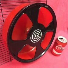 Plastic Rat Exercise Wheel 11 Inch Clip On Or Stand Silent Hamster Gerbil