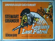 Cinema Poster: LEGION'S LAST PATROL, THE 1962 (Quad) Stewart Granger Dorian Gray