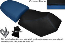BLACK & ROYAL BLUE CUSTOM FITS BAOTIAN FALCON 50 2 PIECE DUAL SEATS COVERS