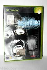 PROJECT ZERO GIOCO USATO BUONO STATO MICROSOFT XBOX EDIZIONE ITALIANA FR1