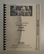 New Wisconsin VG4D Engine Service Manual