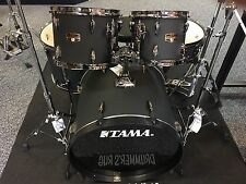 Tama drums sets IMPERIALSTAR 5p Blacked Out Black with Hardware + Meinl Cymbals
