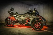 RS Logo Can Am Spyder Automatic Wheel Lights GloRyder Glo Ryder