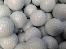 100 x  VALUE GOLF BALLS REFINISHED BUT NOT PRINTED PLAIN BALLS GOOD FOR TRAINING