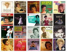 BRENDA LEE  RECORD ALBUMS   PHOTO-FRIDG MAGNETS