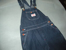 Round House Train Conductor Overall Jeans SIZE 16