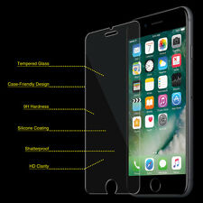 100 x Wholesale LOT iPhone 7 Plus Tempered GLASS Screen Protector Retail Pack