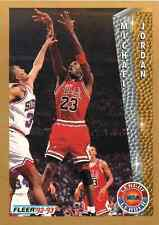 1992-93 Fleer #238 League Leader Michael Jordan - Chicago Bulls