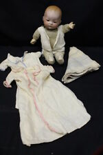 """Early 13"""" My Dream Baby Doll by Arranbee Bisque Head Composition Hands Germany"""