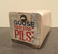 Sealed Goose Island Coasters Four Star Pils Chicago Craft Beer IPA 312 Coaster