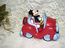 MICKEY MOUSE IN WIND UP PULL BACK CAR CONVERTIBLE CALIFORNIA MICKEY 1 LICENSE
