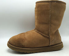 12A14 Ugg Australia Classic Short 5825 Slip on Cozy Boots Women Shoes Size 8