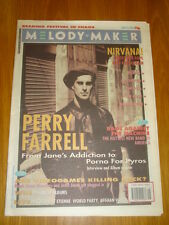 MELODY MAKER 1993 APR 24 JANES ADDICTION THE FALL