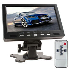 7 Inch 800x480 TFT LCD Screen AV HDMI VGA Car Rear View Monitor + Adpater