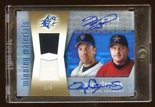 2005 SPX MIKE PIAZZA / ROGER CLEMENS DUAL AUTO 1/5 GAME JERSEY SUPER RARE 5 MADE
