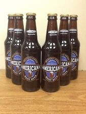 Americana Root Beer Sixpack Glass Bottle Old Fashioned Soda Pop