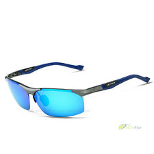 High Definition Visual Sunglasses Driving Fishing Mirrored Eyewear Lenses Blue