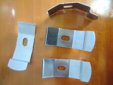 VERTICAL BLINDS RECESS FITTING METAL BRACKETS FOR TRACKS CLIP ON BLIND PARTS