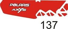 POLARIS tunnel decal GRAPHICS WRAP SWITCHBACK  800 600 PRO S X AXYS 120 137 8